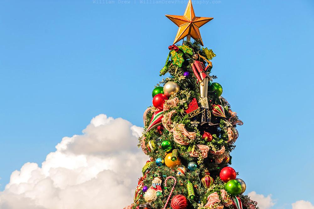 Disney Christmas Art - A Boardwalk Christmas | William Drew Photography
