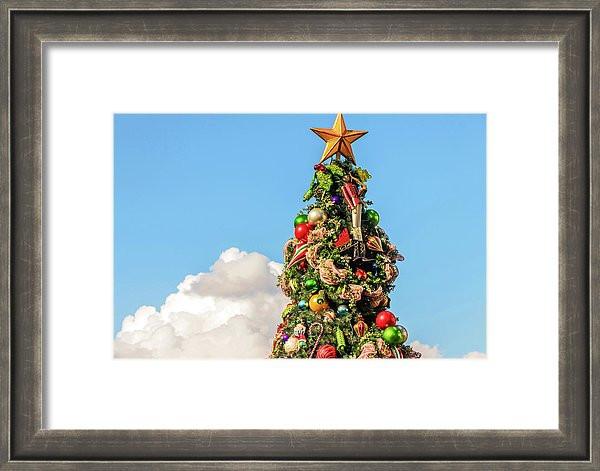 Disney Framed Art - A Boardwalk Christmas | William Drew Photography