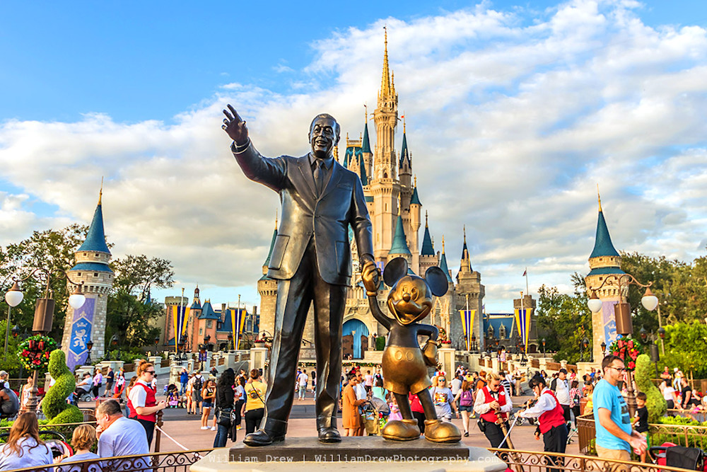 Walt and Mickey - Top Disney Photos | William Drew Photography