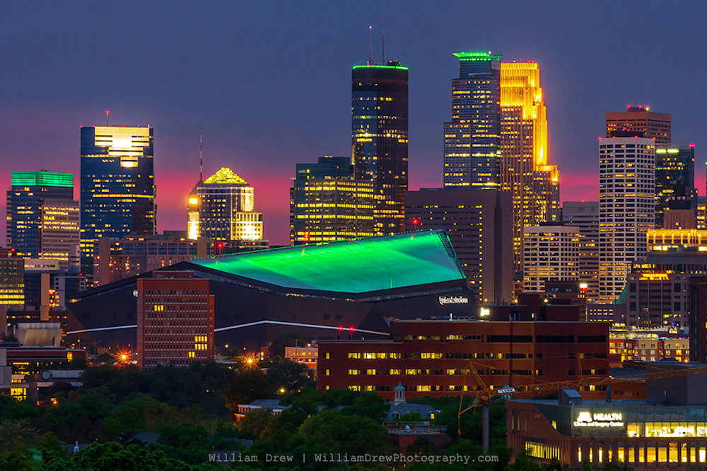 Moneyapolis 3 - Minneapolis Skyline Prints   William Drew Photography