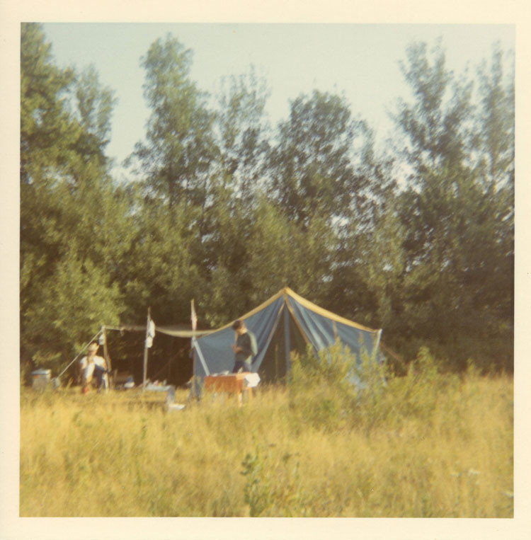 Helthaler Campsite early 1970s