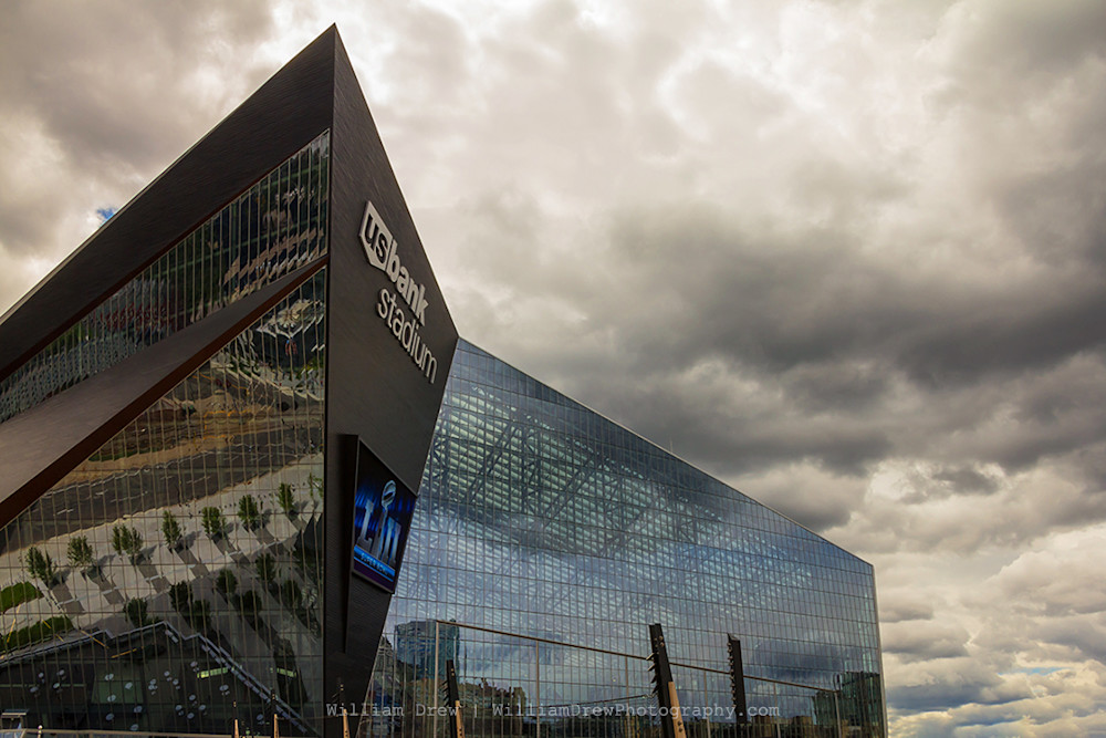 Us Bank Stadium - Minneapolis Art Prints | William Drew Photography