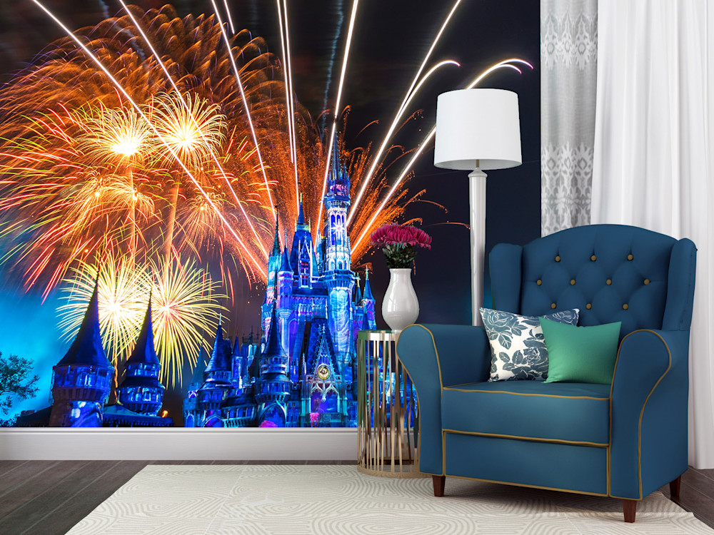 Happily Ever After 2 - Disney Wall Mural | William Drew Photography