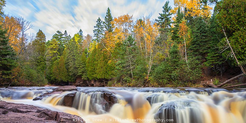 Gooseberry Autumn 5 - Minnesota Landscape Art   William Drew Photography