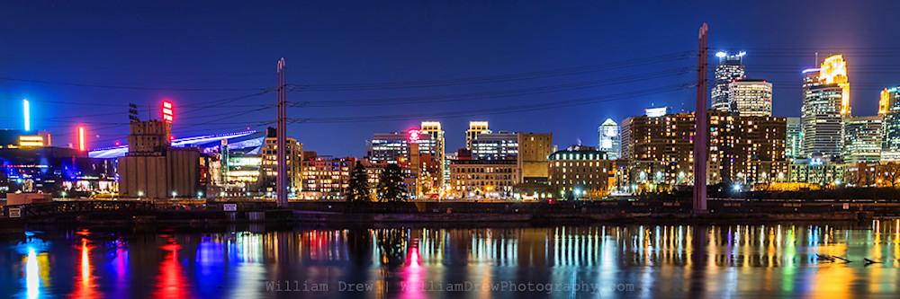 Minneapolis Skyline Art by William Drew Photography