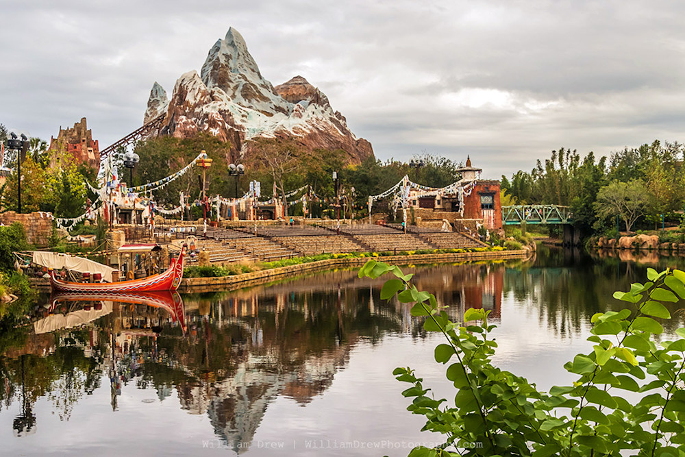 Everest Reflection - Disney Prints for Sale | William Drew Photography