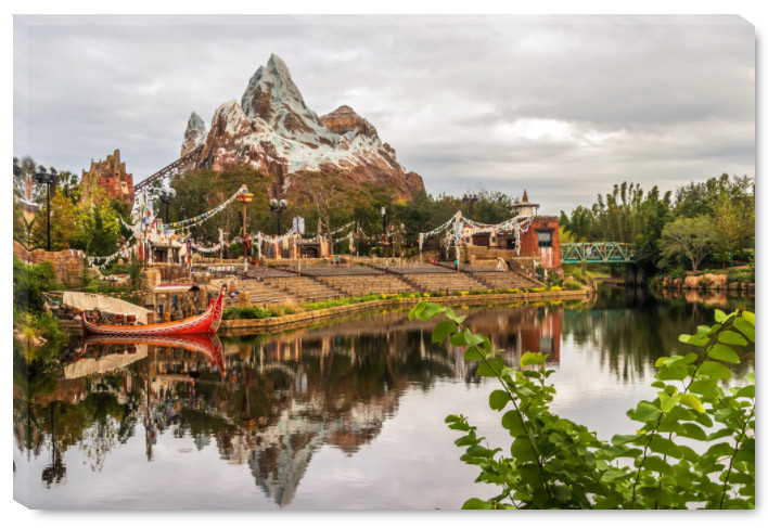 Everest Reflection - Disney Prints on Canvas | William Drew Photography