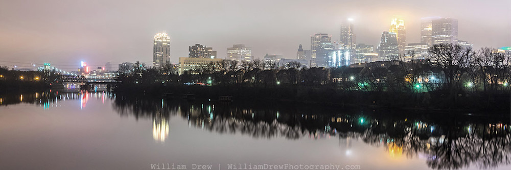 Minneapolis in November - Minneapolis Skyline Prints | William Drew Photography