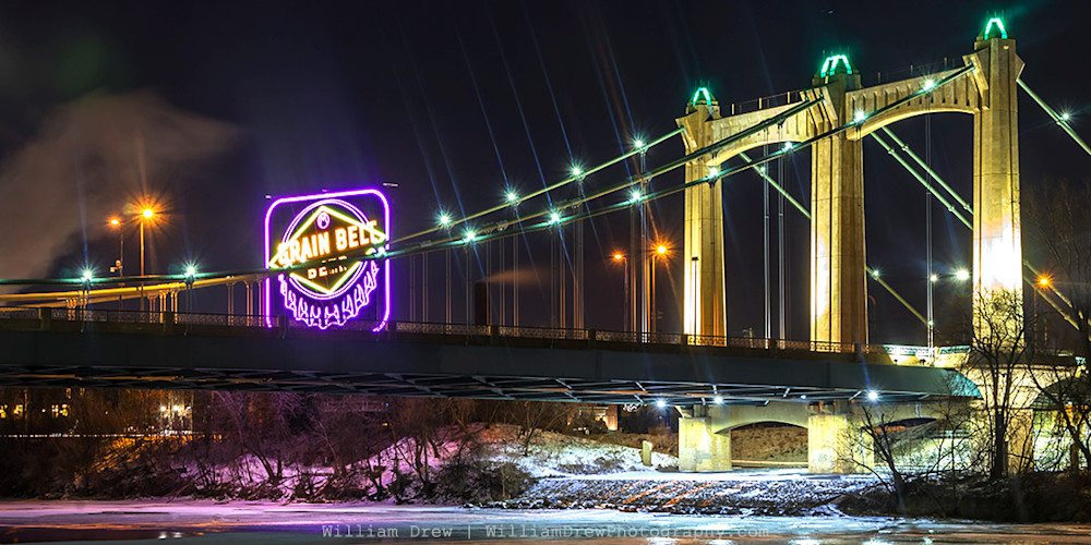 Hennepin Avenue Bridge - Minneapolis Photos | William Drew Photography