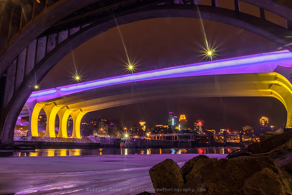 Under the Purple Bridge 2 - Minneapolis Photography | William Drew Photography