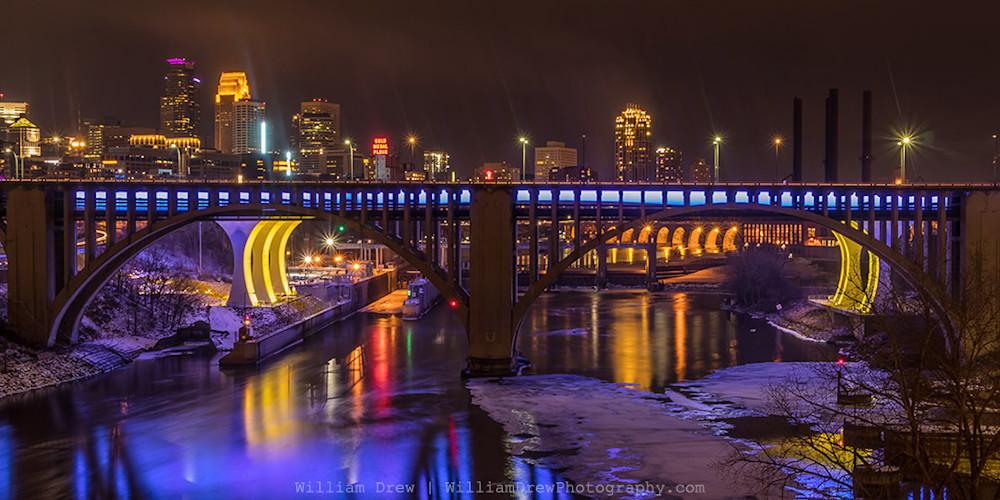 Purple Minneapolis - Minnesota Art for Sale | William Drew Photography
