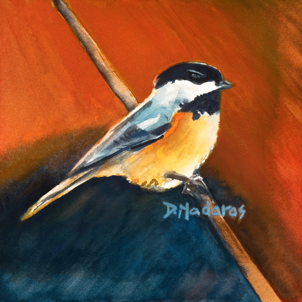 Chickadee | Southwest Art Gallery Tuson | Diana Madaras