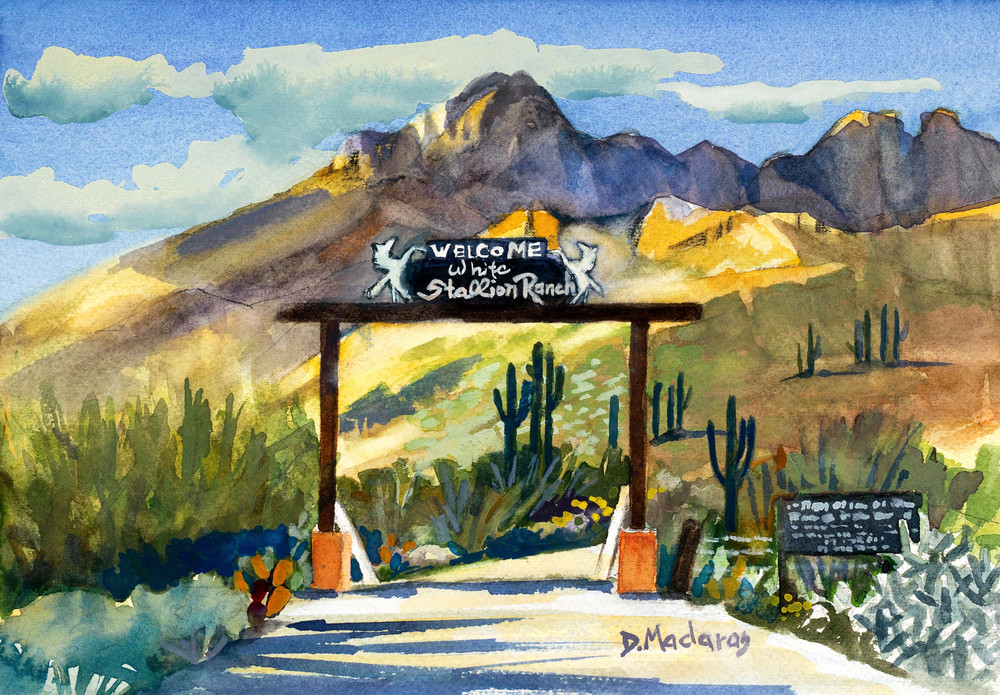 Welcome to White Stallion Ranch | Southwest Art Gallery Tuson | Diana Madaras