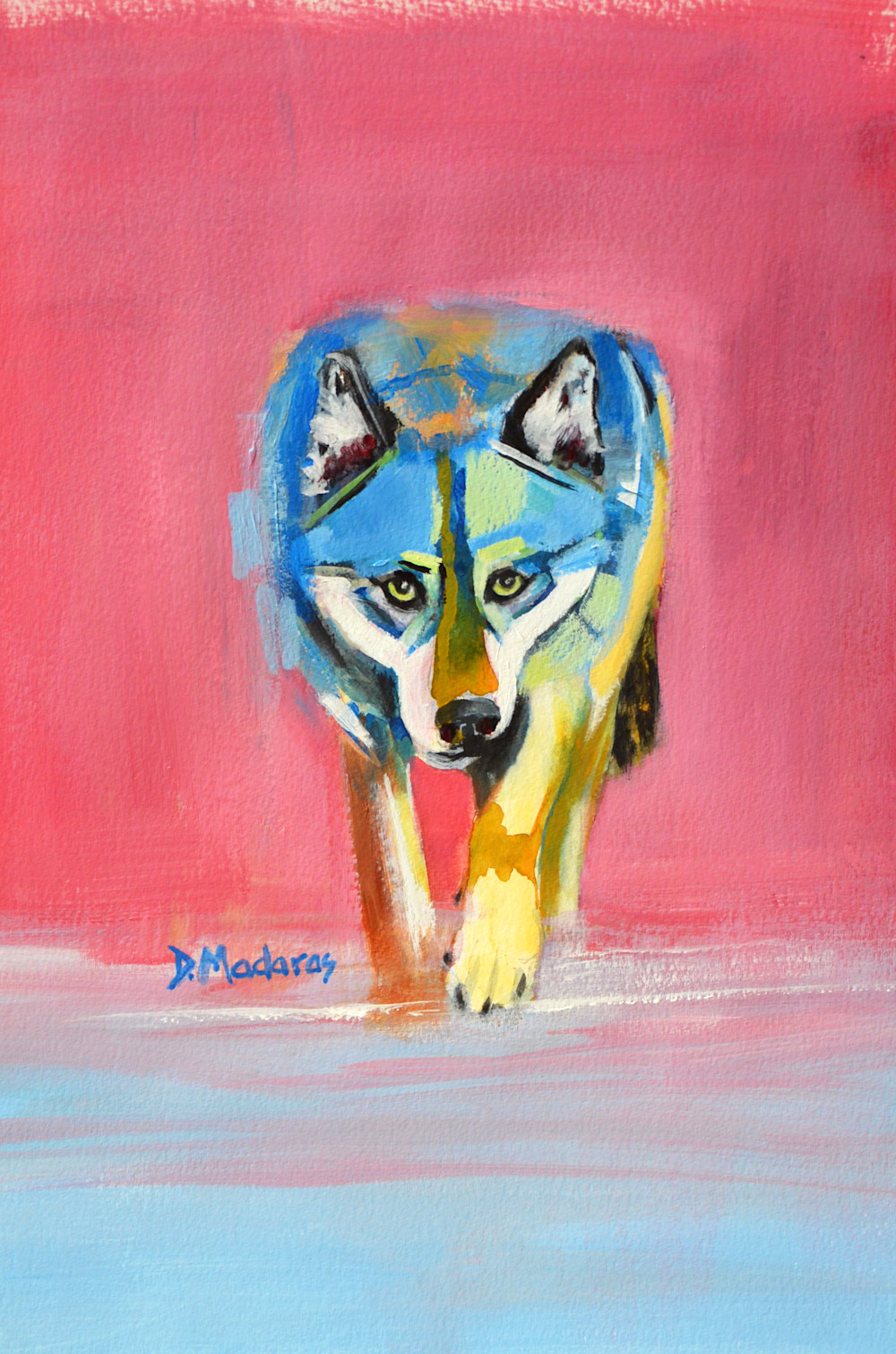 Wolf Walking | Southwest Art Gallery Tuson | Diana Madaras