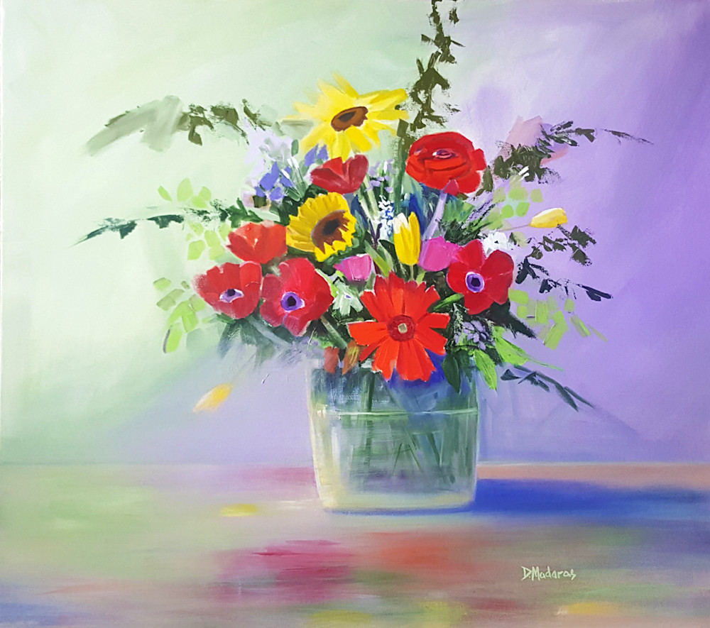 February Flowers | Southwest Art Gallery Tuson | Diana Madaras