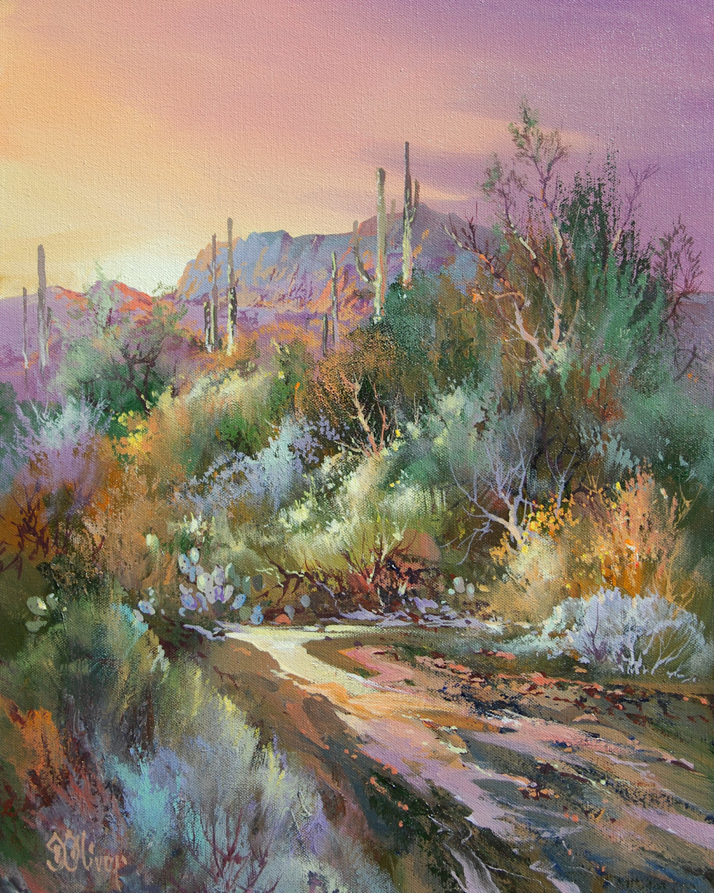 Back Country Trail | Southwest Art Gallery Tuson | Doug Oliver