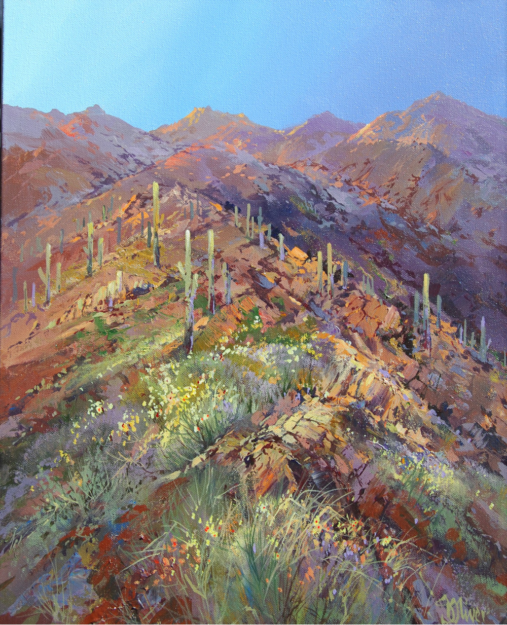 Sabino Sundown | Southwest Art Gallery Tuson | Doug Oliver