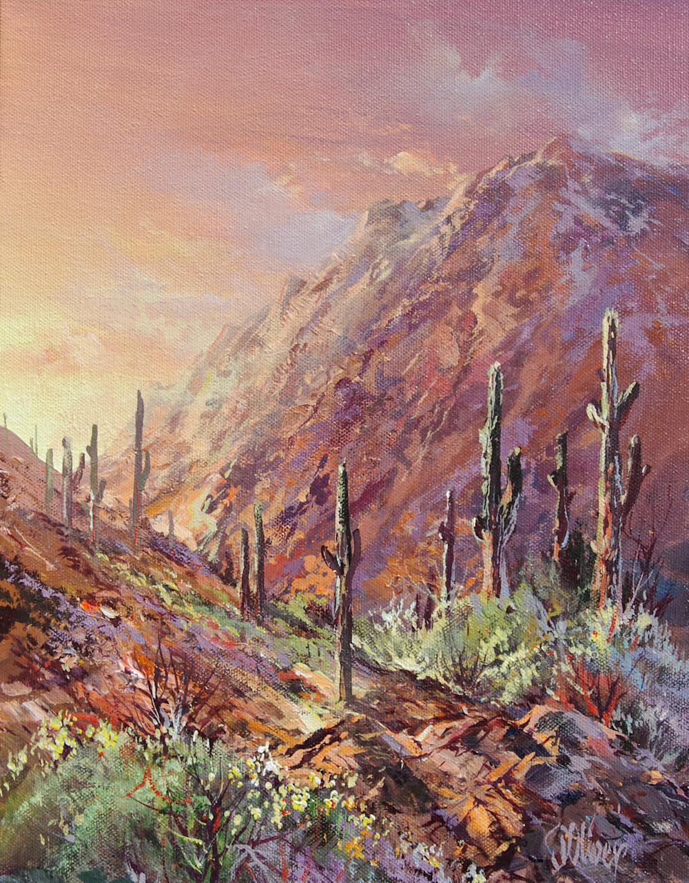 Up the Canyon | Southwest Art Gallery Tuson | Doug Oliver