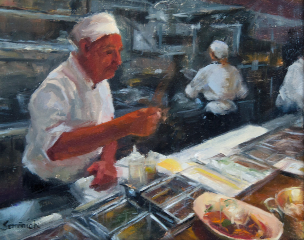The Fish Market | Southwest Art Gallery Tuson | Brenda Semanick