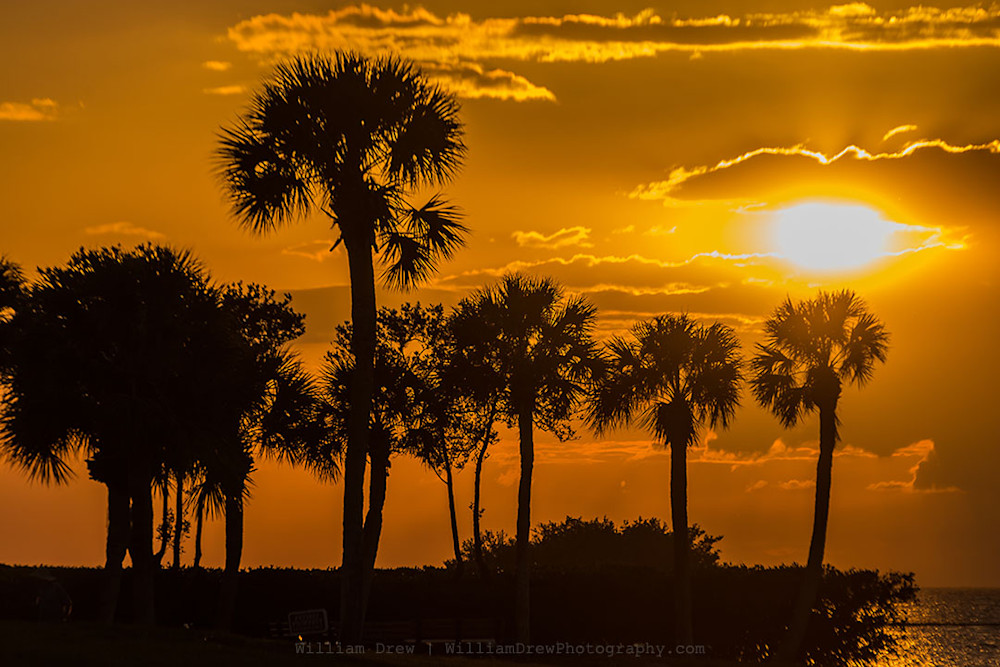 Tropical Sunset 1 - Scenic Photographs | William Drew Photography