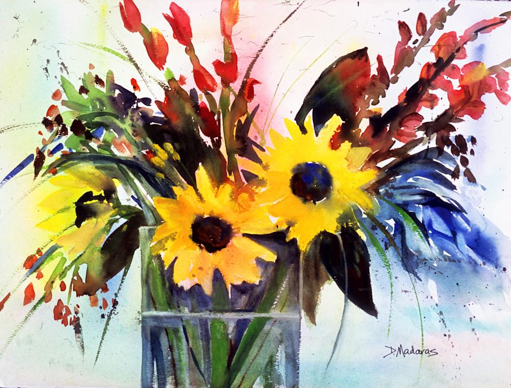 Sunflowers at the Villa | Southwest Art | Tucson Art Gallery