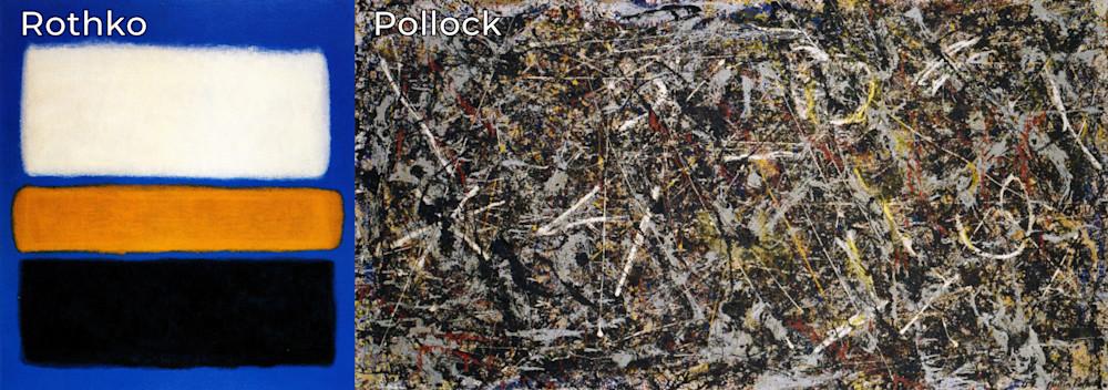 Rothko & Pollock | Southwest Art Gallery Tucson | Diana Madaras