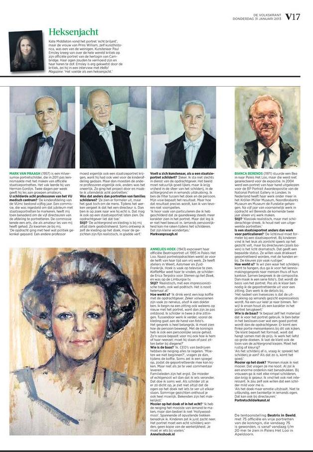 Article Volkskrant 2