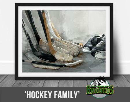 Hockey Family - by Lauren Daae