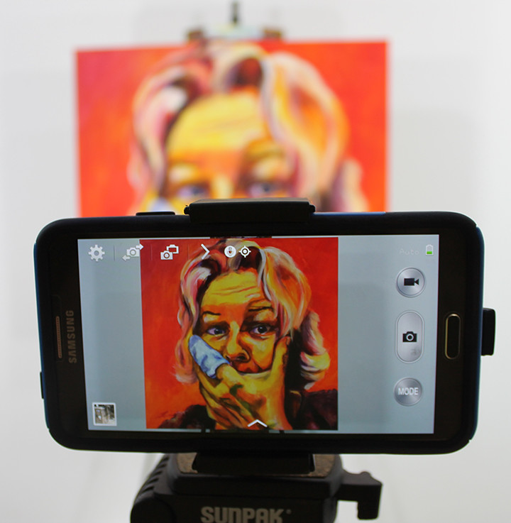 7 easy steps to photograph your artwork with a cell phone