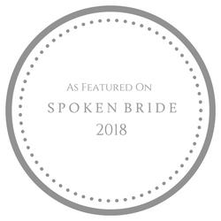 Spoken Bride Badge