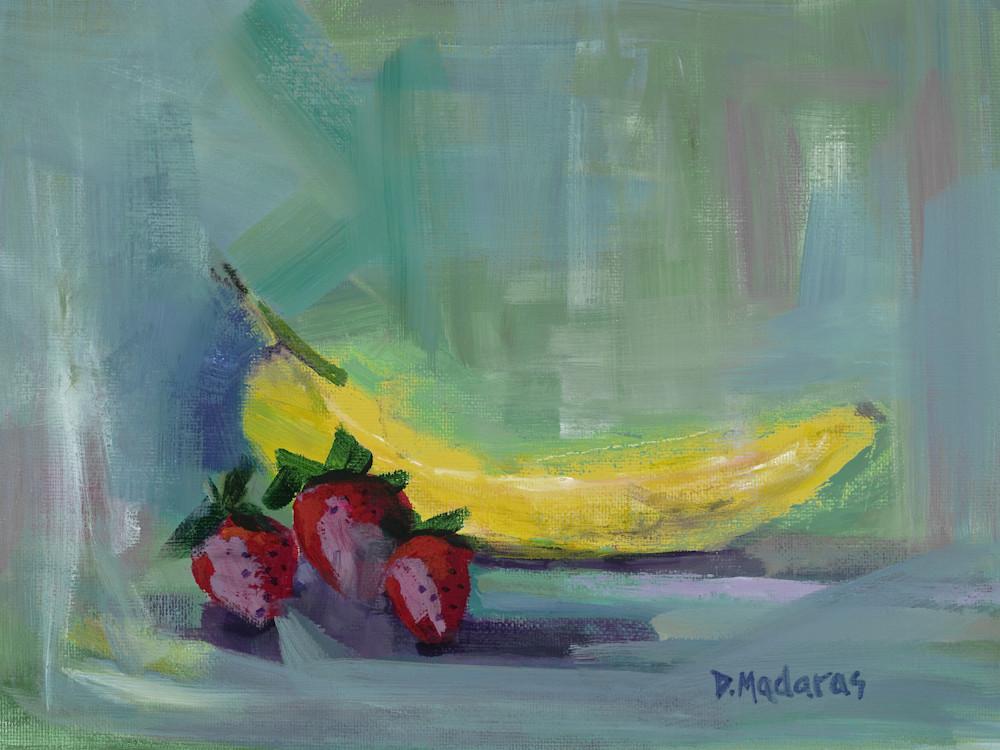 Strawberry Banana Day | Southwest Art Gallery Tuson | Diana Madaras