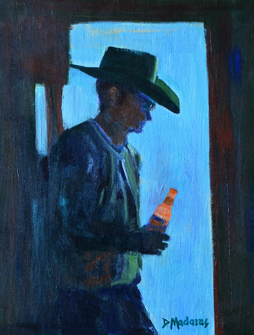 The Beer Guy | Southwest Art Gallery Tuson | Diana Madaras