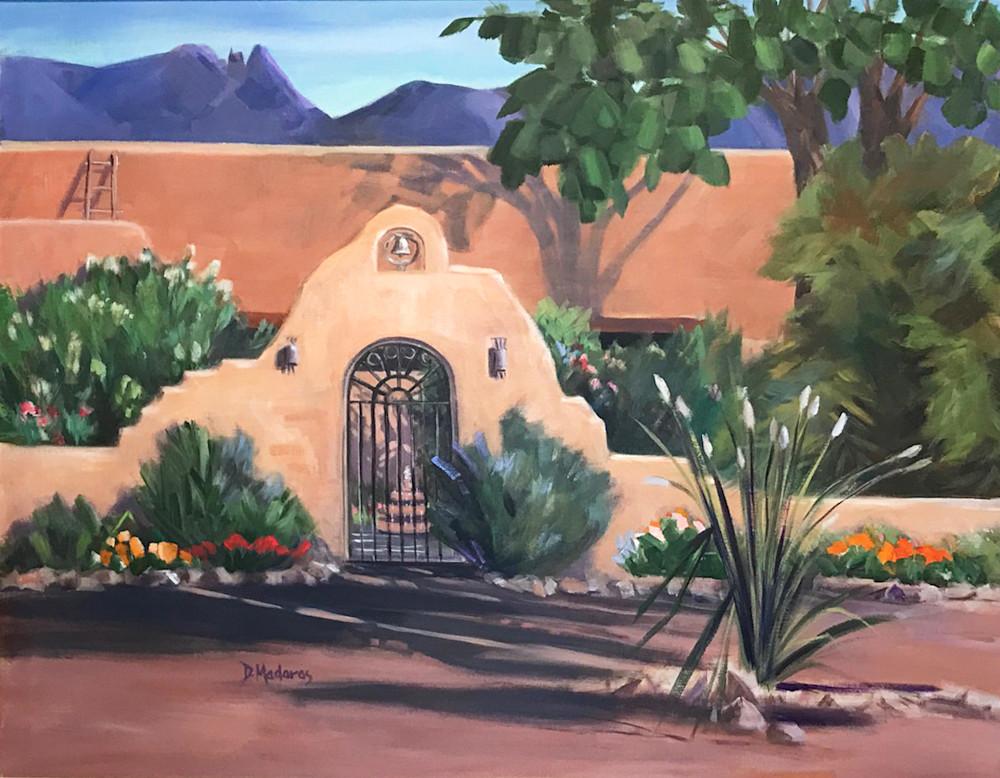 Hacienda at Finger Rock | Southwest Art Gallery Tuson | Diana Madaras