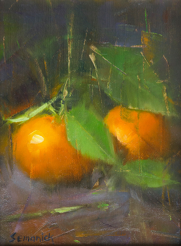 Winter Oranges | Southwest Art Gallery Tuson | Brenda Semanick