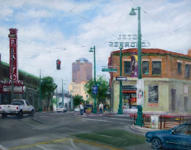 Monsoon Coming | Southwest Art Gallery Tuson | Brenda Semanick