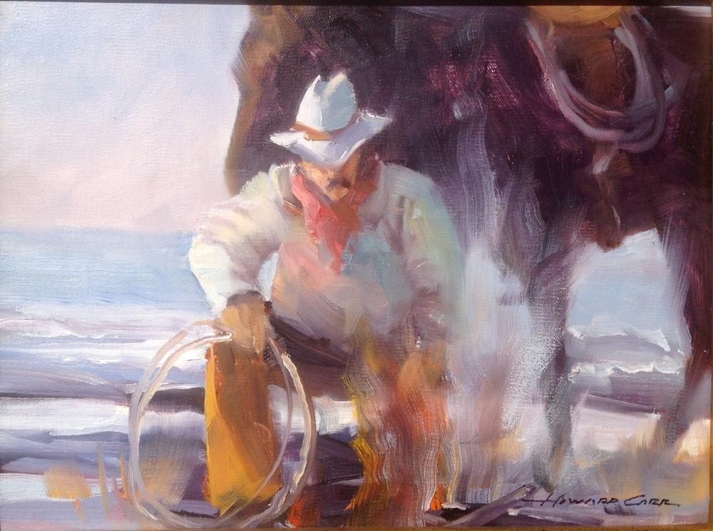 Coastal Cowboy | Southwest Art Gallery Tuson | Howard Carr
