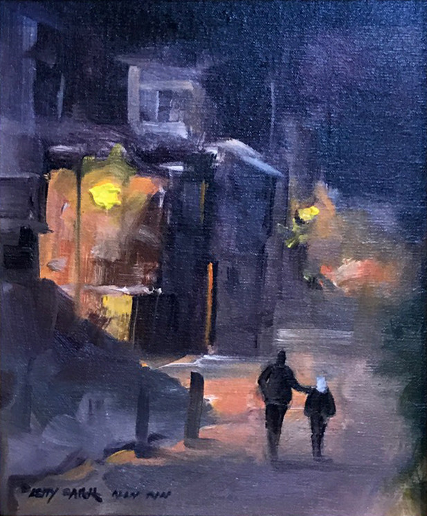 Evening Stroll | Southwest Art Gallery Tuson | Betty Carr