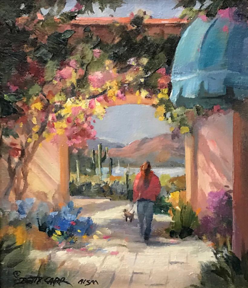 Desert Stroll | Southwest Art Gallery Tuson | Betty Carr