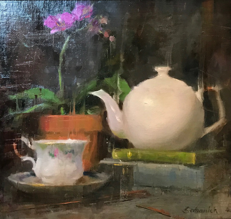Tea Time | Southwest Art Gallery Tuson | Brenda Semanick