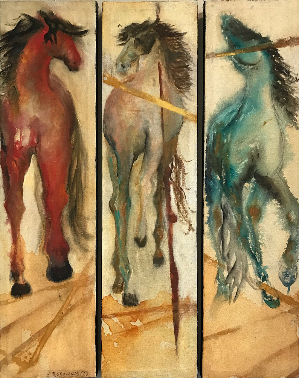 Did You See That Horse | Southwest Art Gallery Tuson | Esther Rogoway