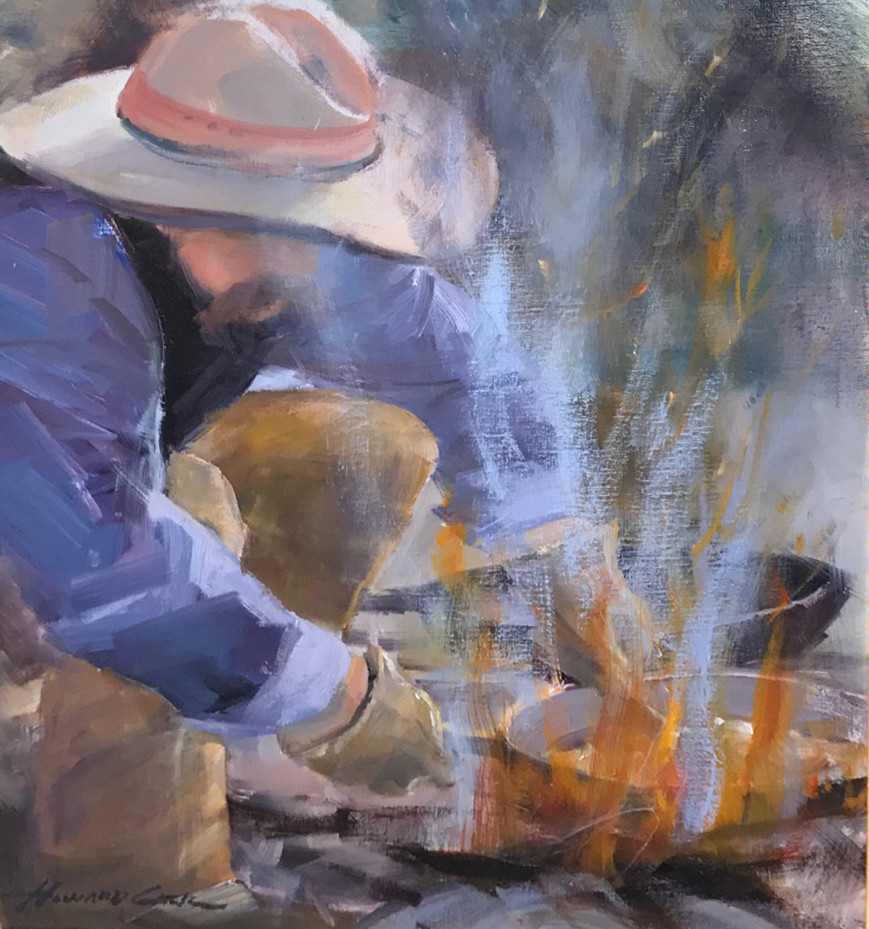 Beans for Breakfast | Southwest Art Gallery Tuson | Howard Carr