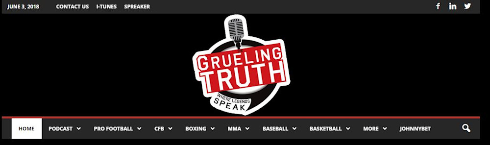 logo of grueling truth website