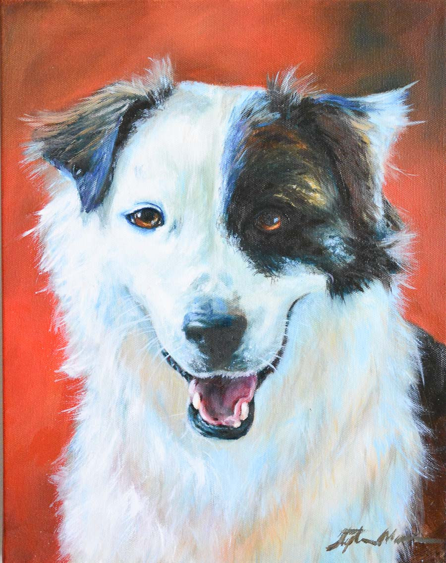 """Sophie"" a Traditional Oil Painting"