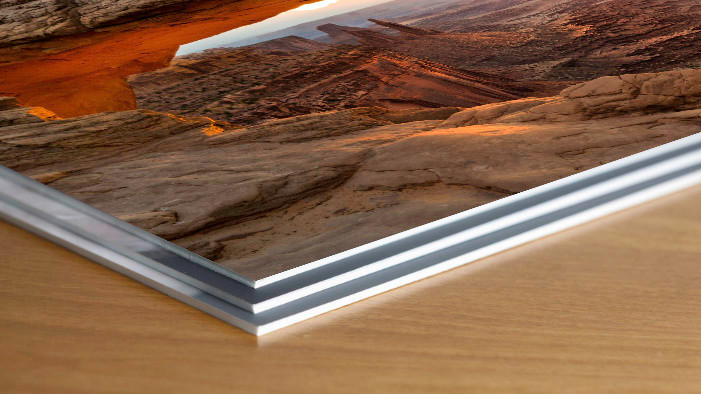 mounted Schoeller prints to styrene backing boards