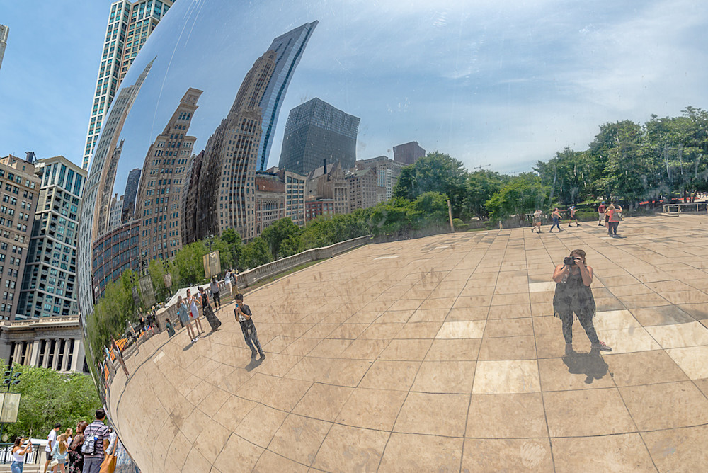 The famous Bean in Chicago