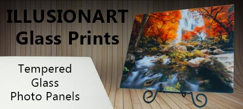 illusionart glass prints