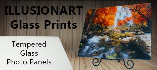 illusionart glass prints