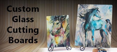 Custom Glass Cutting Boards