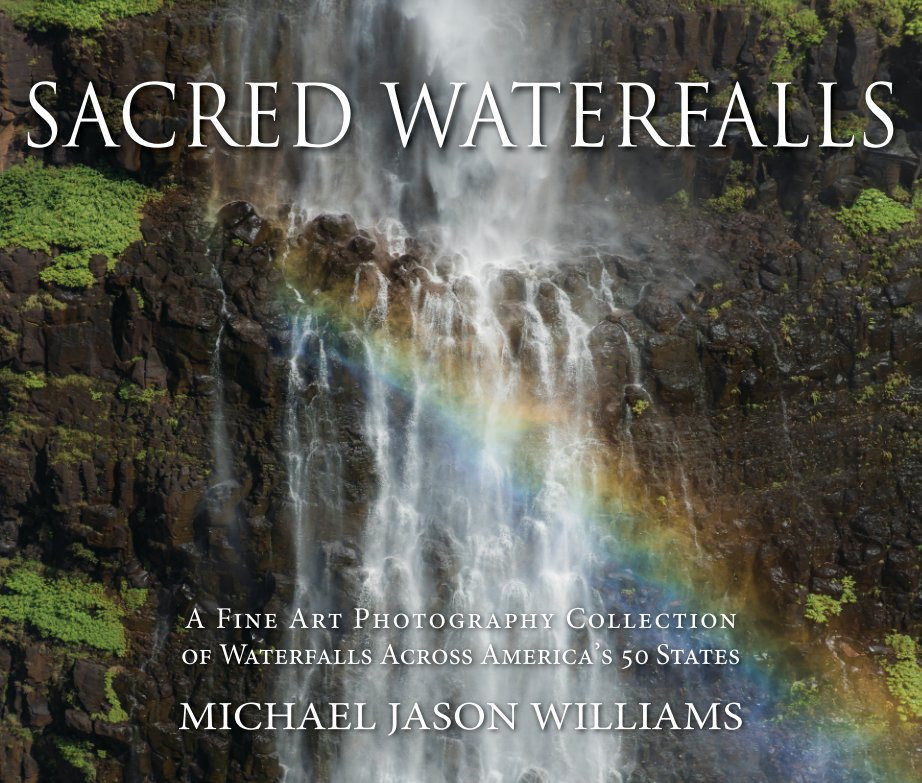 Sacred Waterfalls Book Cover