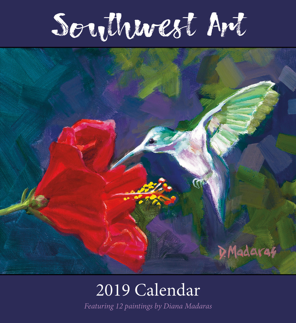 Southwest Art | Madaras Calendar | Fly Me to the Moon | Tucson Art Gallery